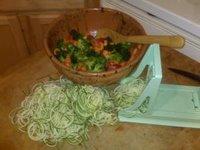 Спагети по градинарски