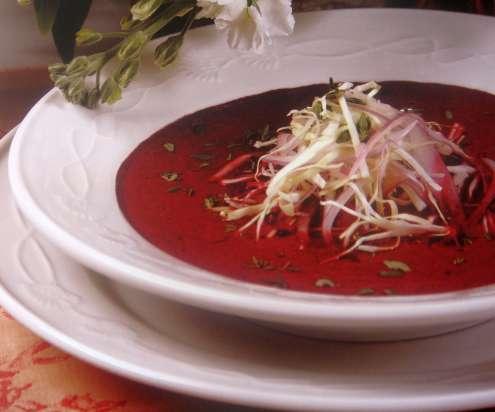 Спаначена супа с мента