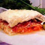 Сурова гръцка зеленчукова мусака