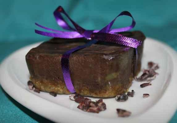 """Торта """"Черно кадифе"""""""